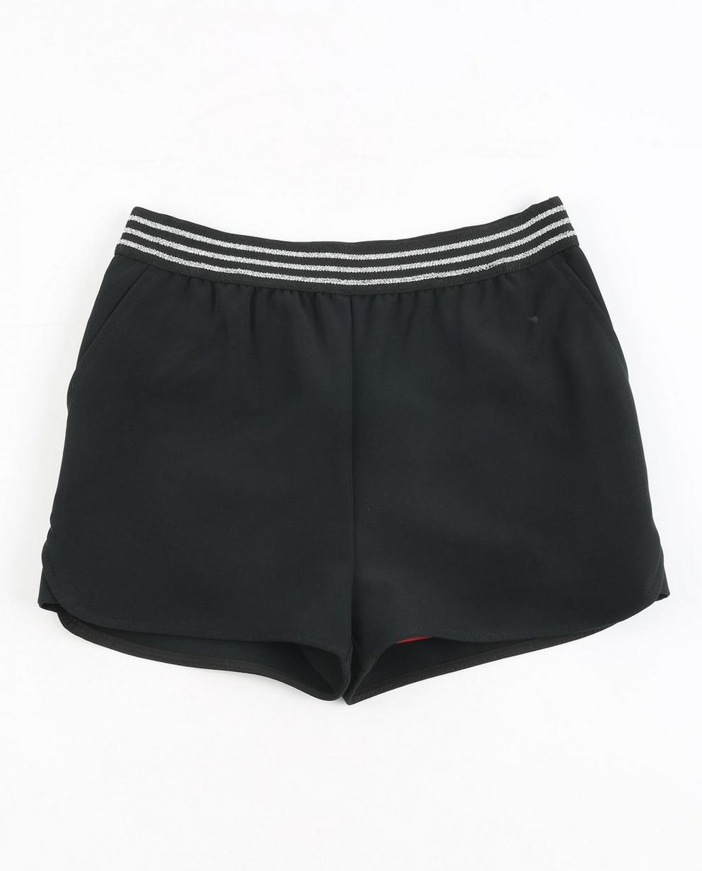 Shorts mit Glitzer - in Schwarz, Katja Retsin - JBC
